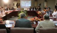 "Hall View In the Round Table Discussion on ""Analysing the Current Situation of Indian Occupied Kashmir"""