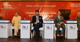 Report Launch of Online Debate on Freedom of Expression (Part-2)