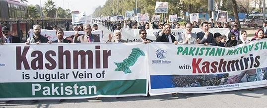 A Walk on Kashmir Solidarity Day