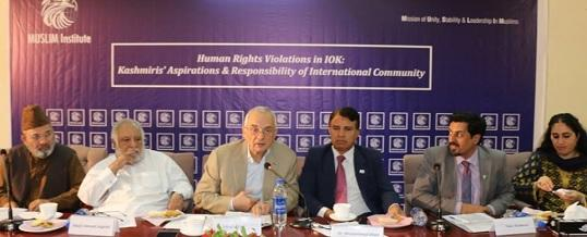 Round Table Discussion on Human Rights Violations in IOK Kashmiris