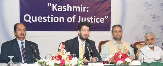 Seminar On Kashmir: Question of Justice