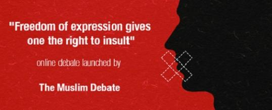 Conclusion of Online Debate: Freedom of expression gives one the right to insult
