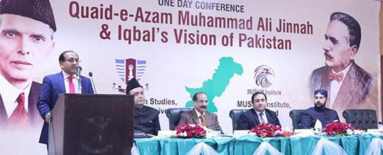 One Day Conference on Quaid-i-Azam Muhammad Ali Jinnah & Iqbal