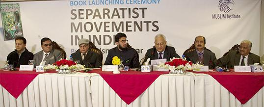 Book Launch Ceremony Separatist Movements in India