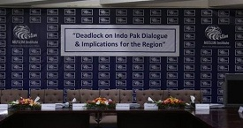 Photos of Seminar on Deadlock on Indo Pak Dialogue & Implications for the Region