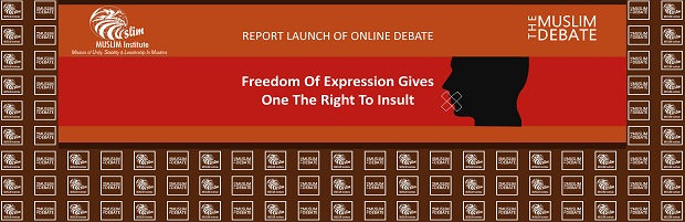 Report Launch Ceremony of Online Debate Freedom of Expression Gives One the Right to Insult