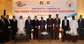 Photos of Inaugural Ceremony Pakistan Sudan People
