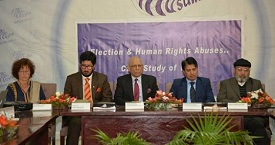 Photos of Seminar on Elections & Human Rights Abuses - Case Study of Indian Held Kashmir