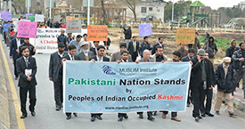 Photos of A Rally on Kashmir Solidarity Day  on 05th February, 2014