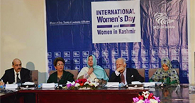 Photos of Seminar on International Women