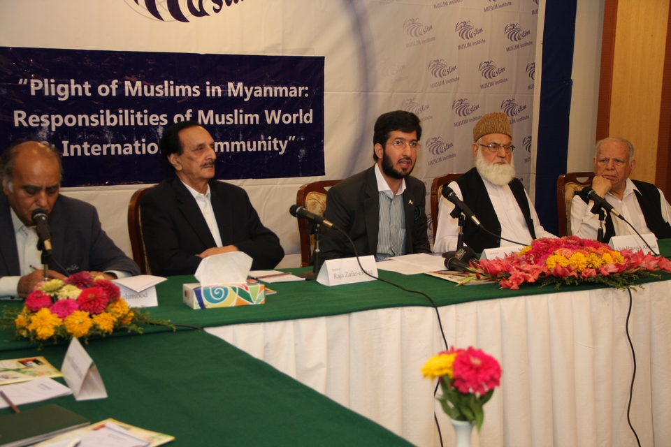 News Report of Seminar on Plight of Muslims in Myanmar