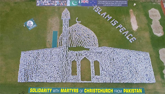 Thousands of Pakistanis showed Solidarity with Martyrs of Christchurch